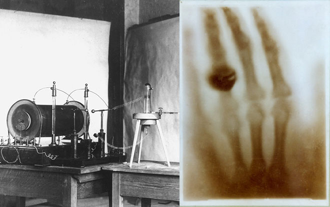 The discovery of X-rays